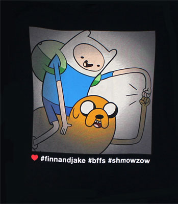 Finn And Jake BFFs - Adventure Time T-shirt