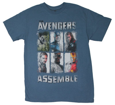 Avengers Assemble - Avengers T-shirt