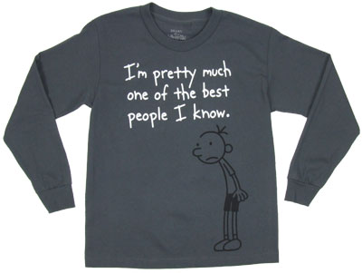 One Of The Best People I Know - Diary Of A Wimpy Kid Boys Long Sleeve T-shirt