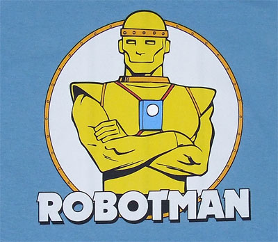 Robotman - DC Comics T-shirt