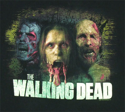 Color Zombies - Walking Dead T-shirt