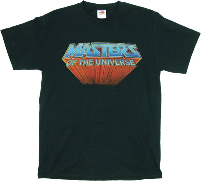 Masters Of The Universe Logo - He-Man T-shirt