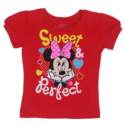 Sweet And Perfect - Disney Girls T-Shirt