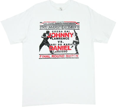Johnny Vs Daniel - Karate Kid Sheer T-shirt