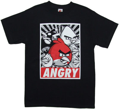 Angry Propaganda - Angry Birds T-shirt