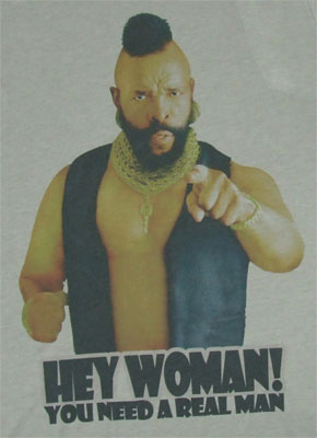 You Need A Real Man - Mr. T Sheer T-shirt