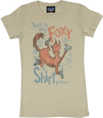 This Is My Foxy Shirt - Junk Food Women's T-shirt