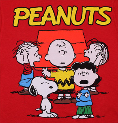 Freak Out - Peanuts Juvenile T-shirt