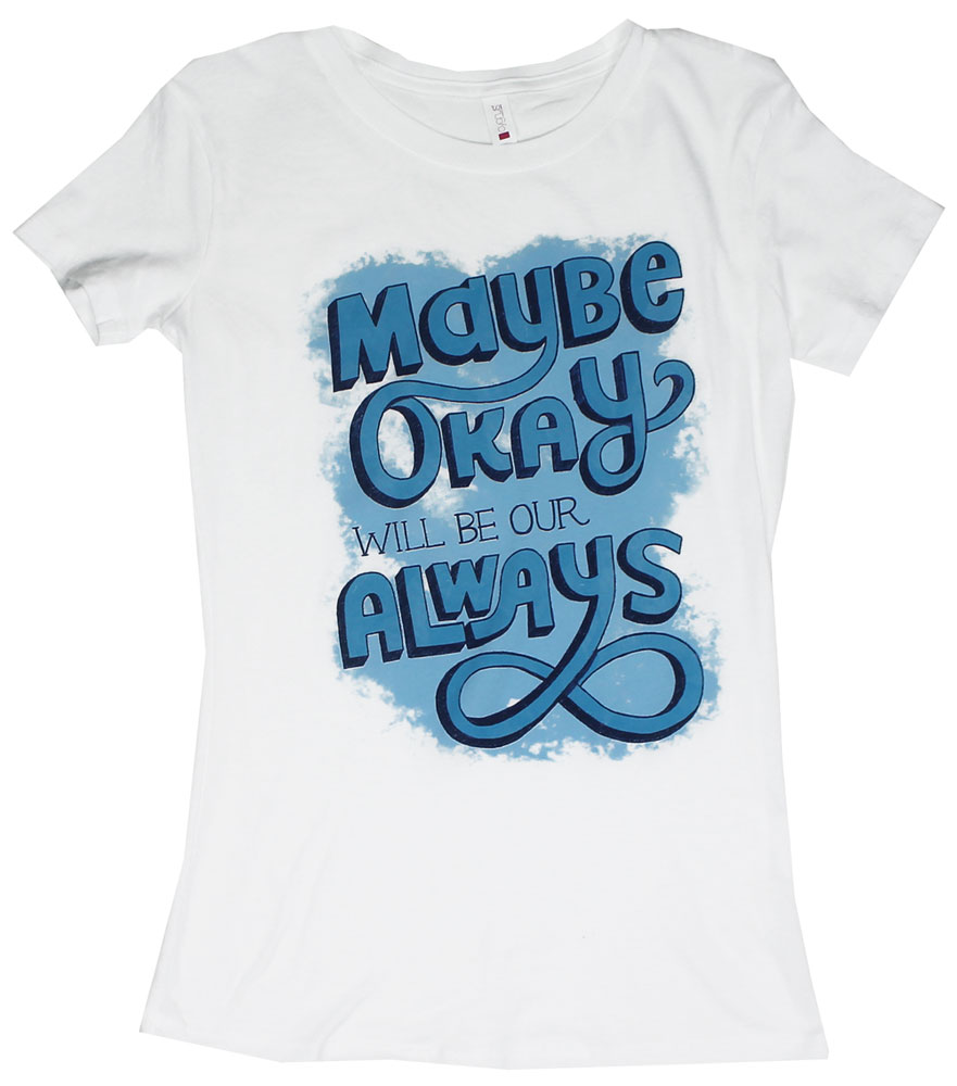 Bold Okay - The Fault In Our Stars Juniors T-shirt