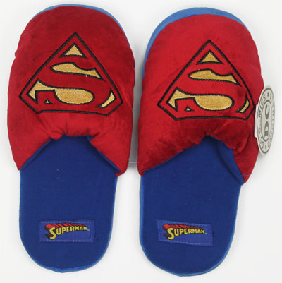 Plush Superman - DC Comics Slippers