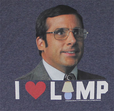 I Love Lamp - Anchorman T-shirt
