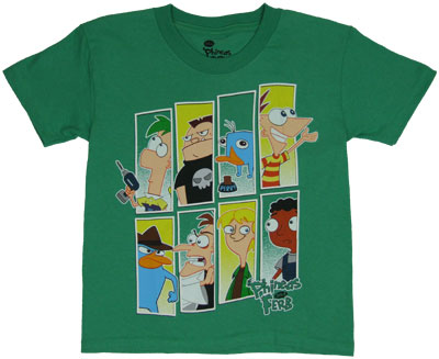 Super Eight - Phineas And Ferb Juvenile T-shirt
