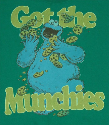 Got the Muchies - Sesame Street T-shirt