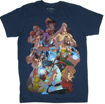 Fight Squad - Street Fighter IV Sheer T-shirt