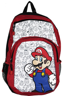 Mario And Characters - Nintendo Backpack