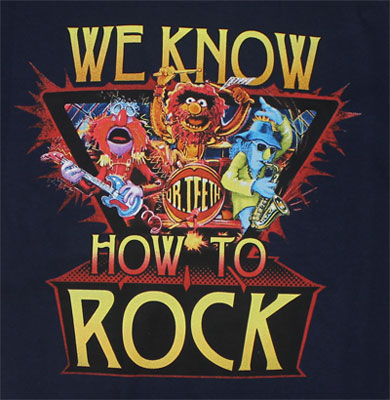 We Know How To Rock - Sesame Street T-shirt