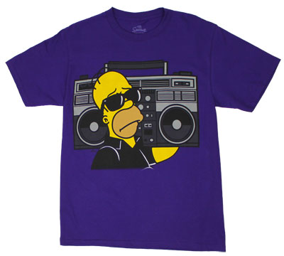 Homer Boombox - Simpsons T-shirt