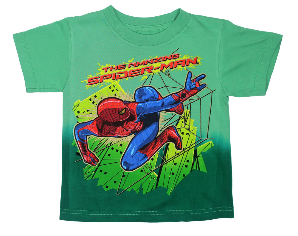 Aerial Flying - Amazing Spider-Man Juvenile T-shirt