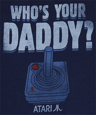 Who's Your Daddy? - Atari T-shirt