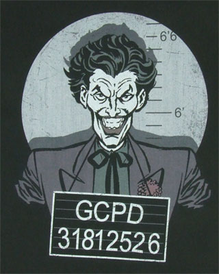 Busted - Joker - DC Comics T-shirt