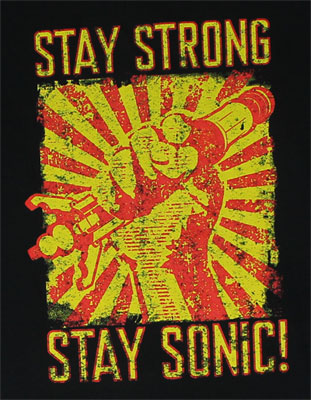 Stay Strong Stay Sonic! - Dr. Who T-shirt