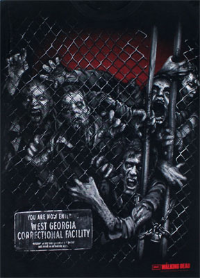 Through The Fence - Walking Dead T-shirt