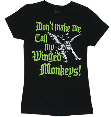 Don't Make Me Call My Winged Monkeys - Wizard Of Oz Sheer Women's T-shirt