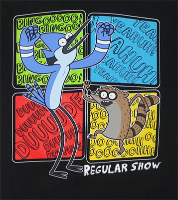 Squares - Regular Show Youth T-shirt