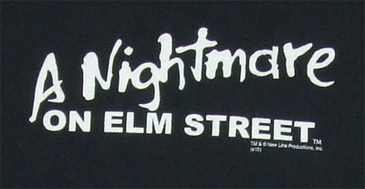 Claws - Nightmare On Elm Street T-shirt