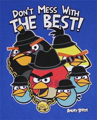 Don't Mess With The Best! - Angry Birds Youth T-shirt