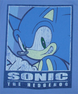 Square Frame - Sonic The Hedgehog T-shirt