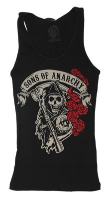 Rose Reaper - Sons Of Anarchy Women&#039;s Tank Top