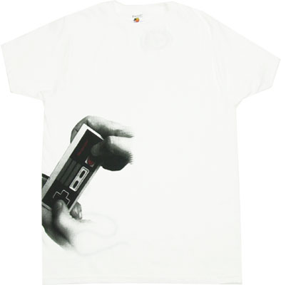 Big Hands - Nintendo Sheer T-shirt