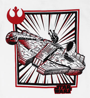 Battle Warp - Star Wars Juvenile T-shirt