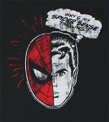 Why's My Spider Sense Tingling? - Marvel Comics T-shirt