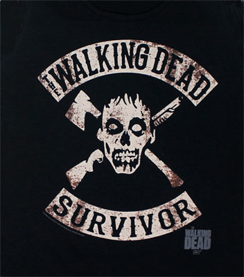 Walking Dead Survivor - Walking Dead Tank Top