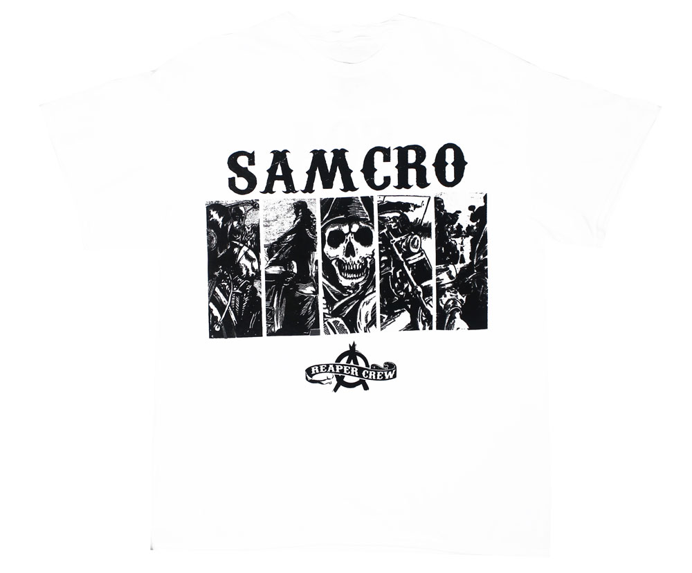 Five Box Panels Two Sided - Sons Of Anarchy T-shirt