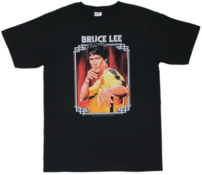 Fire - Bruce Lee T-shirt