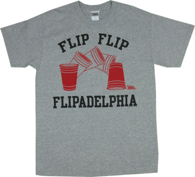 Flipadelphia - It&#039;s Always Sunny In Philadelphia T-shirt