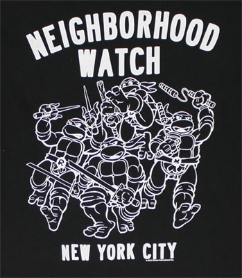 Neighborhood Watch - Teenage Mutant Ninja Turtles T-shirt