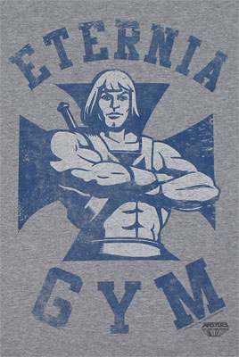 Eternia Gym - He-Man T-shirt