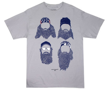 Group Beards Drawing - Duck Dynasty T-shirt