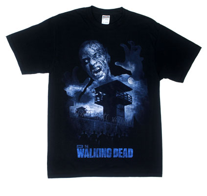 Prison Shadows - Walking Dead T-shirt