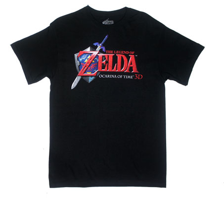 Ocarina Of Time Logo - Nintendo T-shirt
