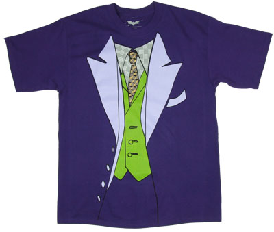 Joker Costume - DC Comics T-shirt