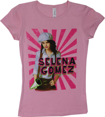 White Beret - Selena Gomez Girls T-shirt