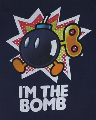 I'm The Bomb - Nintendo T-shirt