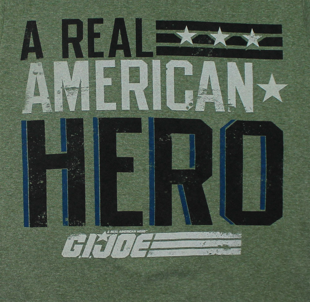 Real American Hero - G.I. Joe Sheer T-shirt