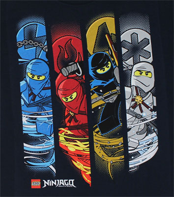 Weather Bands - LEGO Ninjago Juvenile T-shirt
