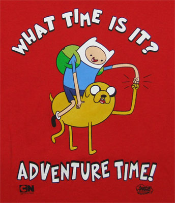 What Time Is It? - Adventure Time Youth T-shirt